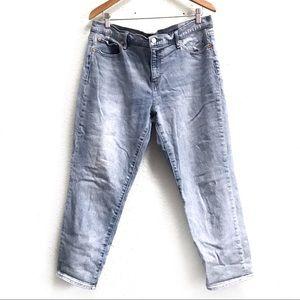 GAP Best Girlfriend High Rise Light Wash Jeans 33